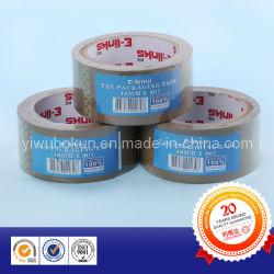De color marrón/marrón Buff BOPP pegamento cinta de embalaje de fábrica de China