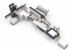 Sistema di taglio di Hpm-L (elevatore della pila, pareggiatore, scaricatore)