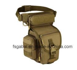 Sacchetto tattico militare esterno del piedino di goccia del sacchetto della coscia del pacchetto della vita
