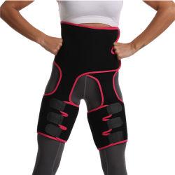 女性の調節可能な発汗吸収性のスポーツの保護ウエストサポート