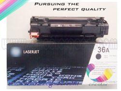 Cartucho de nuevas piezas para cartucho de tóner compatible con HP 436A/36A