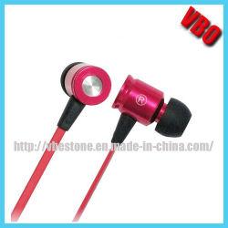 Fone de ouvido metálico para leitor de MP3