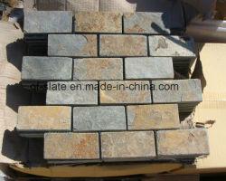 Qunfeng Schiefer-Mosaik-Stein für Außenwand-Umhüllung-Stein