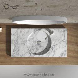 Meuble lavabo en marbre haut Salle de Bain lavabo