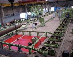 Tubo de acero Derust Tree-Layer PE Revestimiento Fbe línea de maquinaria de pulverización