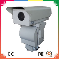 10km Surveillance kabeltelevisie CCD Camera van de lang-Afstand HD met 360 Degree PTZ
