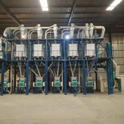 A farinha de trigo planta de processamento