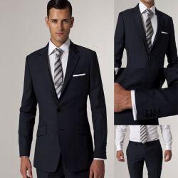 2014 SpitzenFasion Mens Suits mit Pants Terno Terno Masculino Hot Sale Ein Button Sides Vented Suit Smoking Mens Jacket und Pants
