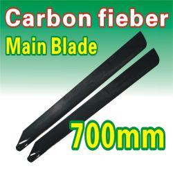 le lamierine principali della fibra del carbonio di 700mm per allineano l'elicottero di RC