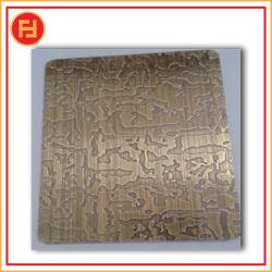 Zolla Checkered dell'acciaio inossidabile 304