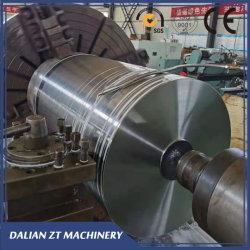 Metalen rol onderdeel Groot CNC Lathe machinaal bewerkt Staal zwaar Metalen onderdeel