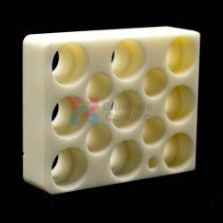 El 99% poroso Industrial bloques de cerámica de alúmina de bloques de cerámica de óxido de aluminio