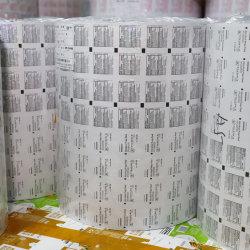 Venta al por mayor precio de lámina de aluminio farmacéutica Material en rollos para las tabletas de píldoras de envase y embalaje