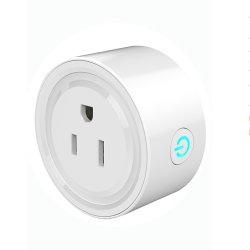 Электрический штекер с незаземлением сетевой розетки WiFi Smart Plug