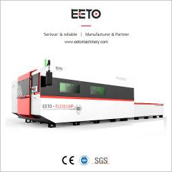 ステンレス鋼およびCSのためのカッターによって電流を通される鉄シートレーザーのカッターへのファイバーレーザーの打抜き機