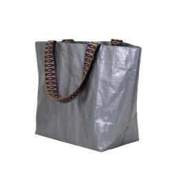 Wasserdichtes mehrfachverwendbares pp.Fabic Plastik-PET gesponnene Tote-Einkaufstasche