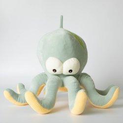 Op maat gemaakte Baby Kids Octopus Super Soft Velvet pluche Toys/Dolls