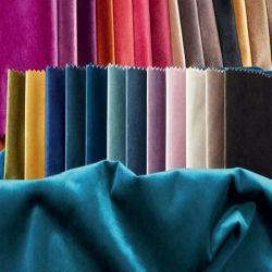 停電ポリエステル織物の/Specialプロセス/カーテンのためのクラッシュのオランダの家具製造販売業のビロードのソファーファブリックはかソファーまたは椅子染まった