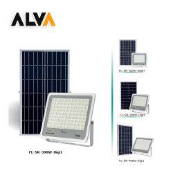 Alva LED de alta potencia 400W el faro de Ahorro de Energía Solar lámpara de exterior Control Remoto con indicador digital para los proyectos o Zona residencial