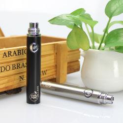 D Plus Vape Battery 400 مللي أمبير/ساعة قلم Vape متغير الفولتية مُسبقة بطارية لزيت سميك، خرطوشتي خزفية 510، بطارية حز مقابل الأنا