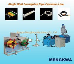 Einwandiger Welldraht-Kanalrohr-Extruder-Maschine Aus Kunststoff