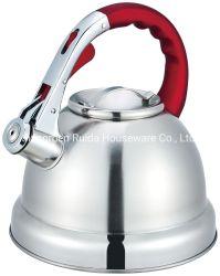 Kitchen Appliance 3.0L teapot sibilo in acciaio inox in verniciatura a colori Maniglie