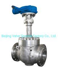 API 6D los extremos de brida Butt-Welding termina a baja temperatura criogénica motor eléctrico del actuador de alivio de presión válvula de bola válvula de compuerta para el Gas Natural Licuado