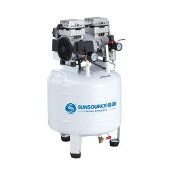 أفضل سعر 550 واط 750 واط ضاغط هواء صغير هادئ مذهل ضاغط هواء محمول من دون أسنان 0.74HP 1HP Medical Silent Oil Free