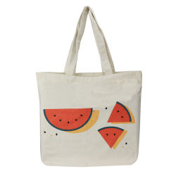 Watermeloen Printing Summer Cotton Canvas Bag