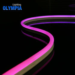IP68 impermeável DMX flexível do tubo de neon de LED RGB
