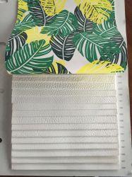 Eco-Friendly solvente a impressão de tinta Faux Leather imitação de couro Fornecedor de tecido