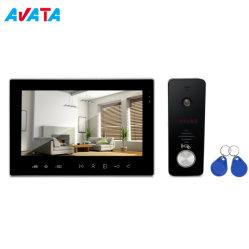 새로운 멀티 아파트 건물 비디오 도루폰 비디오 인터콤 시스템