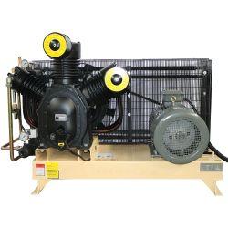 ضاغط الهواء متوسط الضغط المرتفع 30بار، والذي يعمل بالسير بمعدل 3MPA/4335 رطلاً لكل بوصة مربعة ضاغط الهواء لماكينة قالب التصريف بالحيوانات الأليفة