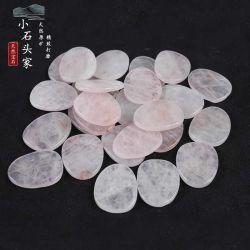 """"""" Natural Jade Powder Crystal Egg-Ship Beads Biodane ذات الشكل الخاص تخصيص مجوهرات قلادة العقد """"NDIY"""" برأس حجري شبه ثمين"""""""