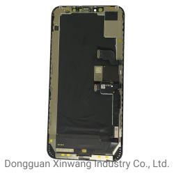 iPhone Xs Max OLED 화면에 사용된 오리지널 폰 LCD iPhone Xs Max LCD 터치 스크린 디지타이저 대체용 디스플레이
