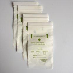 Sacs réutilisables de médecine de l'enveloppe de soutirage à fermeture éclair