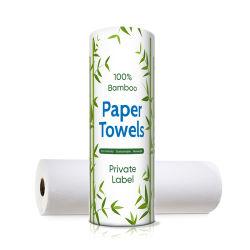 Soft Toalha celulose virgem cozinha toalhas de papel de cozinha Branco uma toalha de papel
