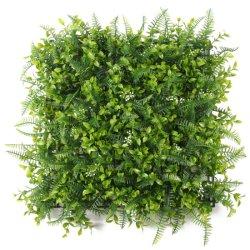 Landscaping Maatwerk kunstgroen bedekt Fence Groene muur verticaal Tuin kunstmatige Tuin Boxwood Hedge Panels Muur voor Outdoor Decoratie