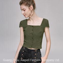 جديدة تصميم [فشيون كلوثينغ] بروز أعلى مظهر سيدات مثير لباس داخليّ بنت نساء قمزة [ت-شيرت]