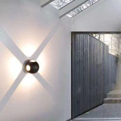 IP65 de 12 vatios de Iluminación Exterior Interior Global LED Lámpara de pared