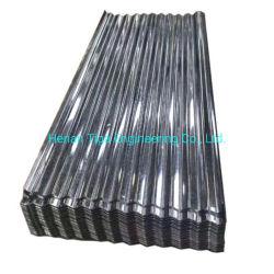 Commerce de gros d'usine de 0,13 mm*665mm en acier ondulé Feuille de toiture/Tile/plaque