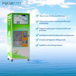 Munt en nota bediende de machine van de Vending van het water van de zuiveringsinstallatie