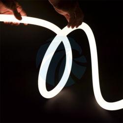 CE / RoHS / registrazione UL 22 mm / 25 mm / 30 mm / 40 mm 24 V CC 360 gradi silicone a emissione circolare LED Neon Flex