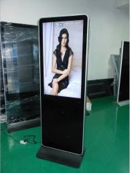 Quente de fábrica 43 polegadas LCD Jornal Biblioteca de publicidade quiosque de tela sensível ao toque tela multi-touch FHD suporte da tela de brochura