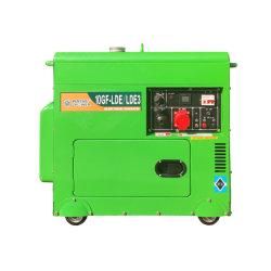 8 квт/9Квт/10квт/11квт Электрический пуск одним / три этапа Silent типа портативных подвижных дизельного генератора