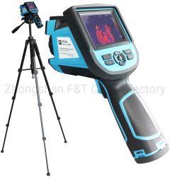Corps de la fièvre Walk-Through portatif de détection du détecteur de température sans contact, Auto-Alert