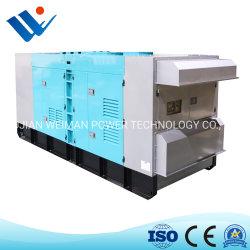 Sei prezzo diesel del generatore del cilindro 250kw Shangchai un motore diesel piccolo Senerator silenzioso di 3 fasi