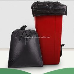 컬러 HDPE/LDPE/PP/생분해성/콤포지블 쓰레기 봉지 플랫 또는 롤 팩
