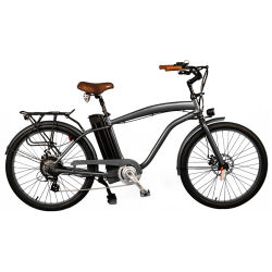 26-Zoll-Männer 250 W Beach Cruiser Electric Bike 36 V Battery Electric Bicycle