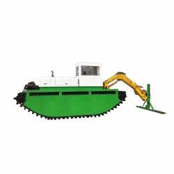 Faible prix de l'écartement de l'eau Matériel amphibie de mauvaises herbes aquatiques/Reed/la jacinthe d eau/Verre à eau des bateaux de coupe de travail de la récolteuse Watermaster dans le lac de la rivière ou sur la terre